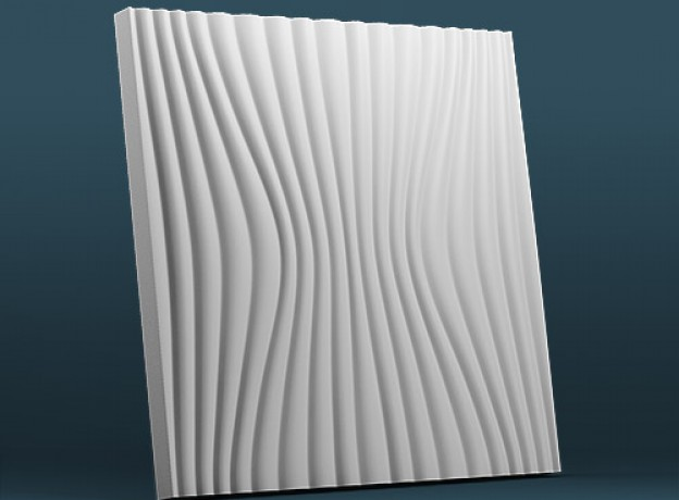 Mold for 3D panels Laminaria