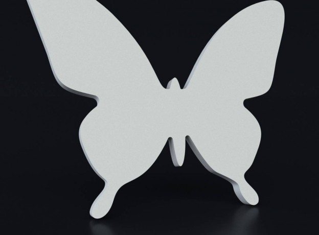 Molds for 3d panels for decoration Swarm of butterflies 1